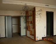 Отделка стен декоративной штукатуркой, декоративная штукатурка стен в интерьере, ее фото и виды